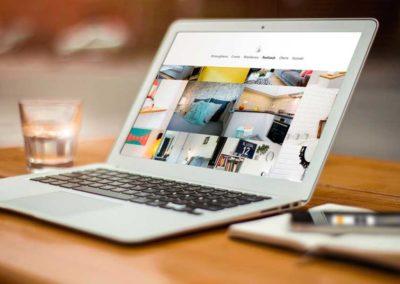 Strona www projektanta wnętrz