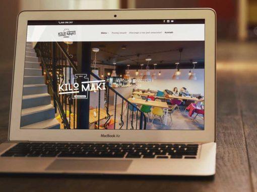 Strona internetowa pizzerii KiloMąki 2.0