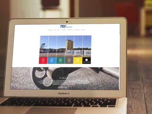 Strona www dla producenta pokryć dachowy i pap