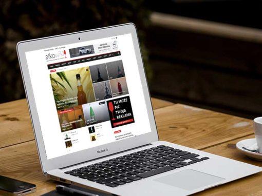 Portal dla recenzentów alkoholi