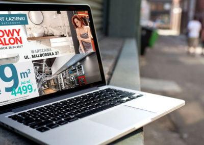 Strona www producenta wyposażenia łazienek Komfort Łazienki